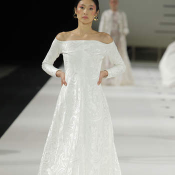 Créditos: YolanCris, Barcelona Bridal Fashion Week