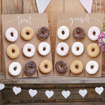 Panel de Donuts para el Candy Bar - The Wedding Shop