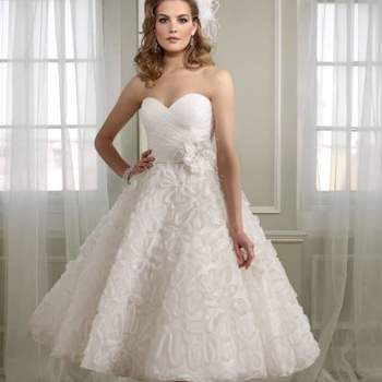 Encontrar o vestido de noiva perfeito não é fácil! São muitos estilos diferentes e se você gosta de modelos curtos, vai se encantar com estes da coleção 2013 de Mori Lee.