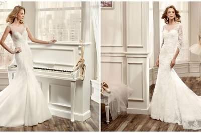 30 vestidos de novia corte sirena para el 2016. ¡Elige el vestido ideal!