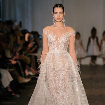 97142abbf Vestidos de novia con encaje  un diseño refinado para el día más ...