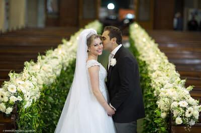 Casamento clássico animadíssimo de Nathalya & Murilo: amor e música até amanhecer!