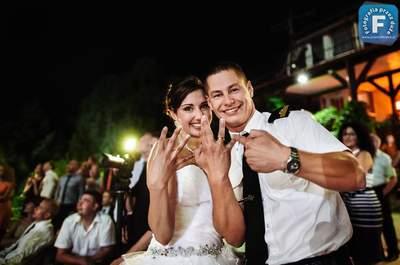 Pełen szaleństwa, wojskowy ślub Karoliny i Grzegorza