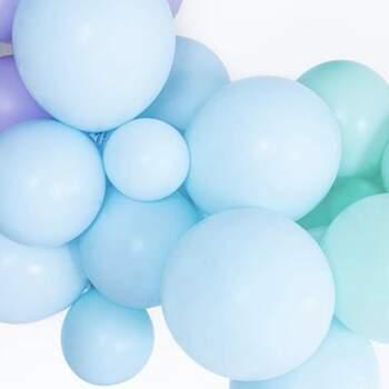 Ballons Bleu Clair Pastel Différentes Mesures - The Wedding Shop !