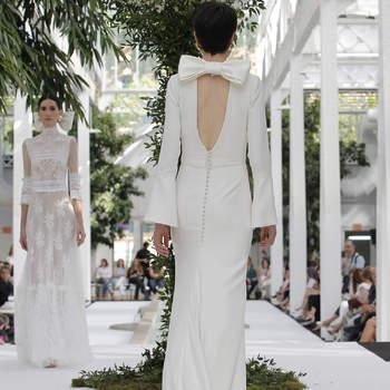María Barragán. Credits: Barcelona Bridal Fashion Week