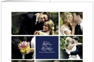 Faire-part et remerciements de mariage uniques et personnalisés, découvrez les nouveautés Popcarte