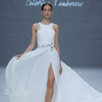 Cristina Tamborero. Créditos: Barcelona Bridal Fashion Week