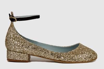 Como escolher um sapato baixo, bonito e confortável para o seu casamento