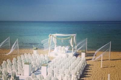 Il mare, la sabbia, il vostro matrimonio e l'esclusività del Coccaro Beach Club