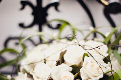 Ramos de novia románticos 2013