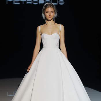 Foto; Jesús Peiró. Credits_ Barcelona Bridal Fashion Week