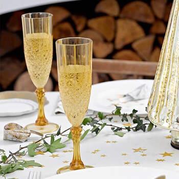 Copa De Champán Oro- Compra en The Wedding Shop