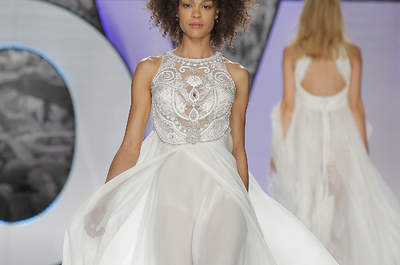 Vestidos de noiva com predrarias: muito luxo e glamour!
