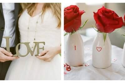 Ideas románticas para decorar tu boda 2013 con rosas