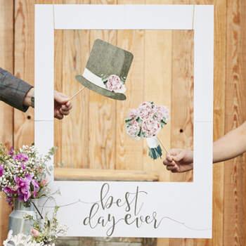 Cuadro para photocall polaroid - Compra en The Wedding Shop