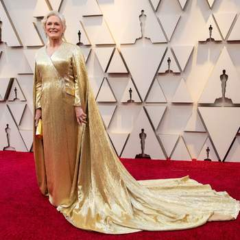 Glenn Close vestindo Carolina Herrera / Cordon Press