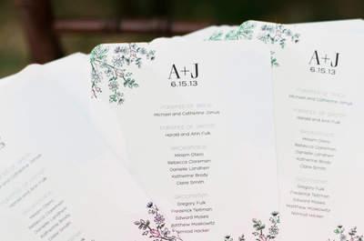 Déjate consentir por el calor: Detalles ultra originales para una boda en el verano