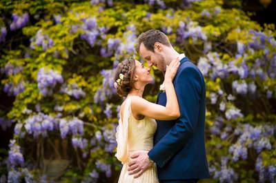 Real Wedding: Alexandra and Mark's Very Classy Vintage Wedding!