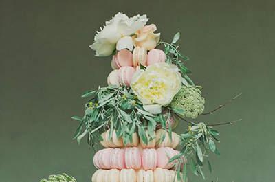 Ideias LINDAS para servir macarons no casamento: sofisticação e sabor!