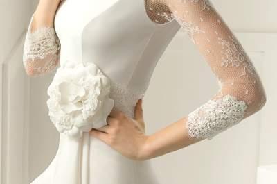 Os detalhes mais incríveis que marcam a diferença dos vestidos da Rosa Clará 2015