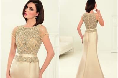 Robes de soirée Eleni Elias  pour une invitée glamour et raffinée
