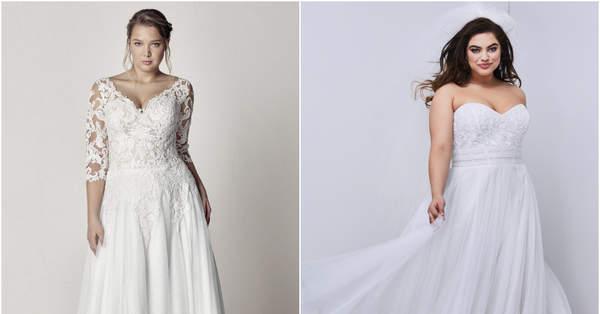 46 robes de mariée pour femmes rondes : mettez