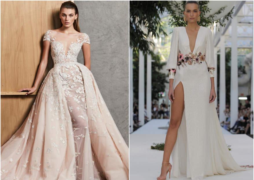 los 100 vestidos de novia 2019. ¡tendencia e impacto para arrasar en