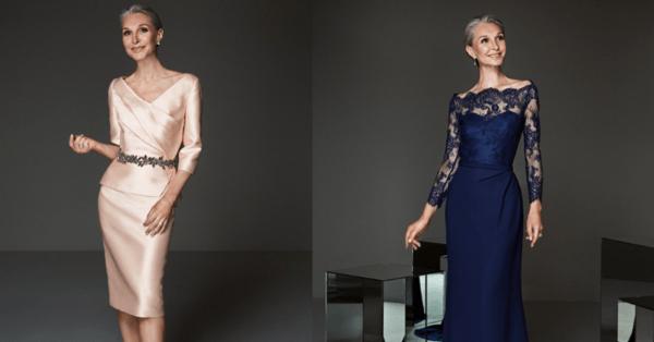 Vestidos De Fiesta Para La Mamá Del Novio Y La Novia Los Mejores Diseños 2020