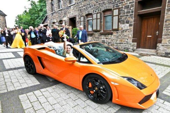 Nach der Zeremonie - fotografiert von Hochzeitsfotografin Corinna Vatter aus Duisburg