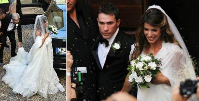 Matrimonio di Elisabetta Canalis e Brian Perri - Foto via Pinterest Oggi