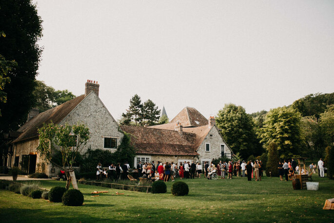 Lieu de réception idéal pour organiser une cérémonie en plein air