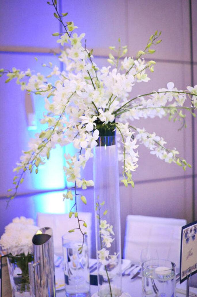 Ambientación y arte de la mesa. Foto: Style Me Pretty