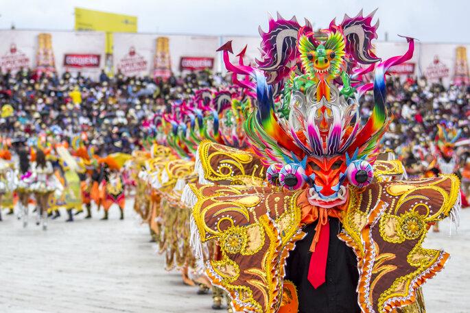 Créditos: Por JorgeAndres vía shutterstock/ Fiestas de la Virgen de la Candelaria en Puno
