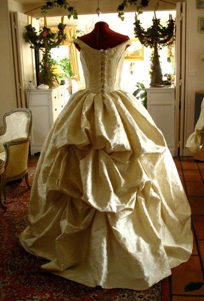Robe de mariée sur mesure Agnès Szabelewski