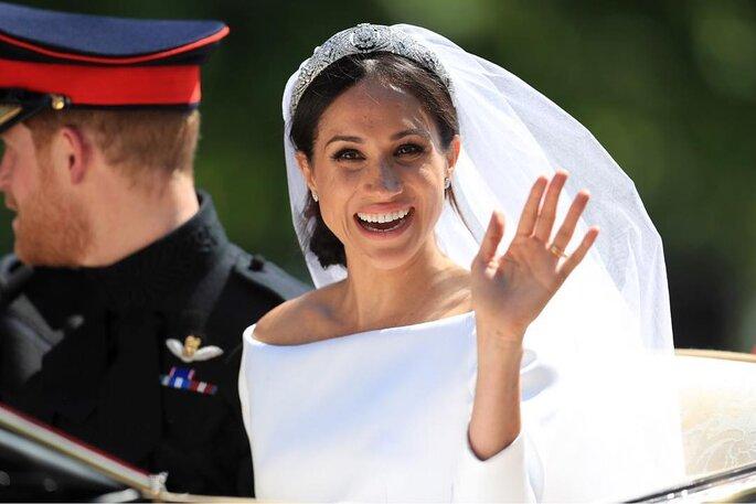 Meghan Markle revela detalhe curioso sobre vestido de noiva