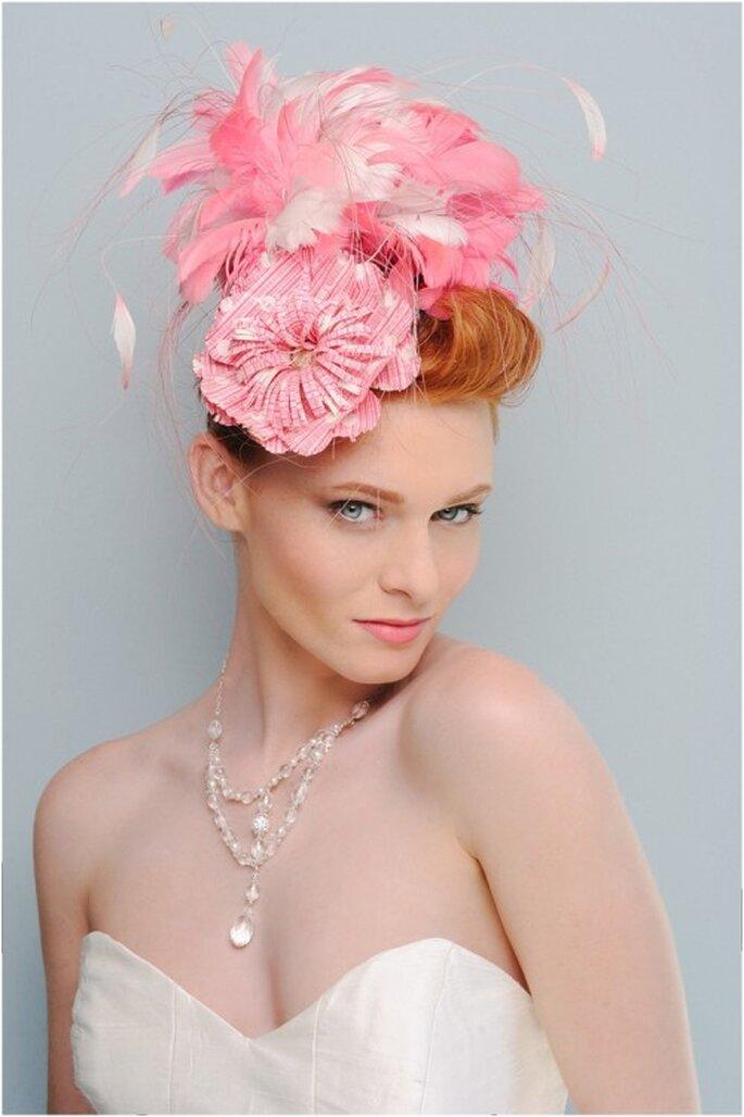 Collar de cristales claros para novia - Foto Evan Laettner