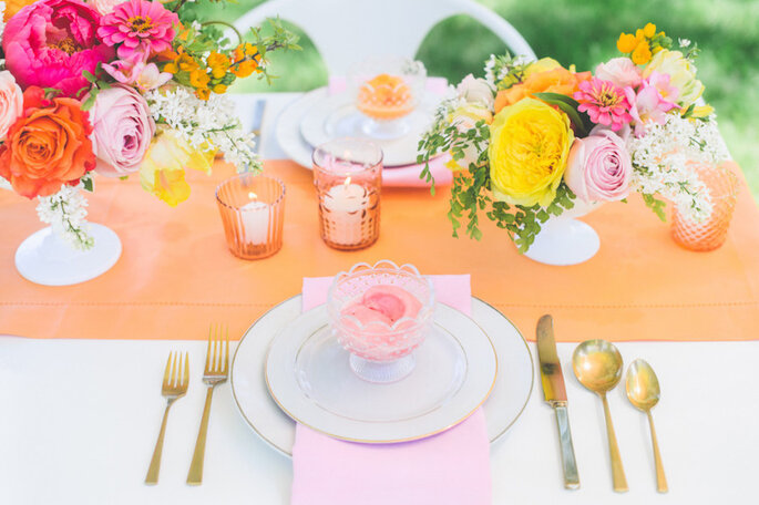 Caminos de mesa para la decoración de boda - Paper Antler