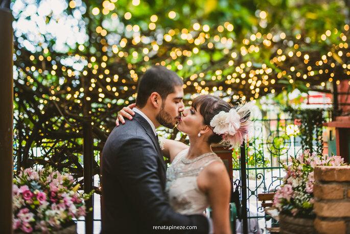 44c84972aa Casamento vintage de Erica   Thomas  TUDO com estilo retrô