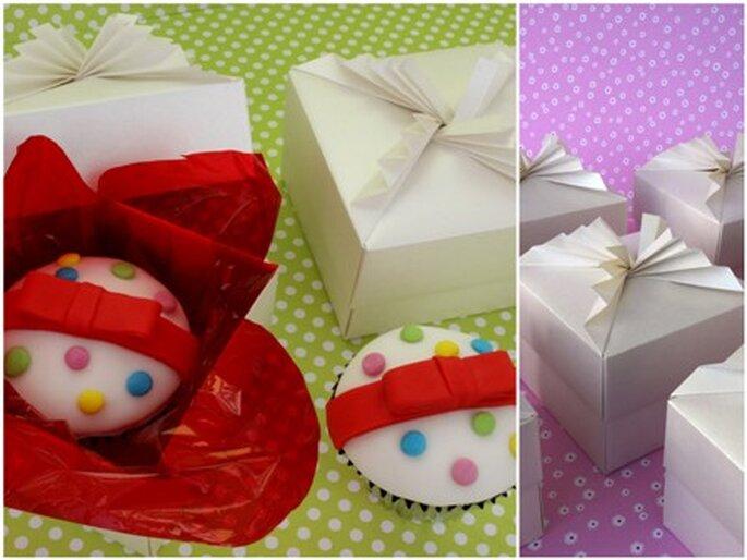 Caixas para Cupcakes - Rita Vaz