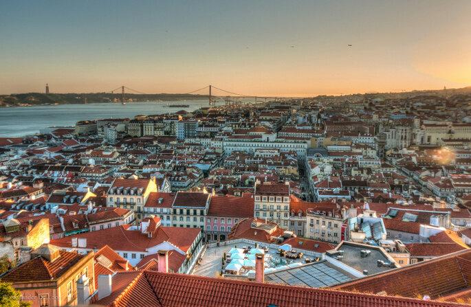Vista panorâmica de Lisboa. Foto: Alexander De Leon Battista / Flickr