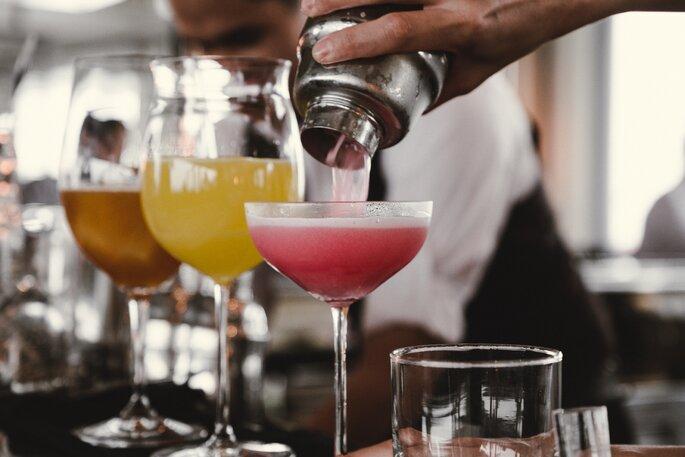 Cocktail Kurs zum Junggesellinnenabschied