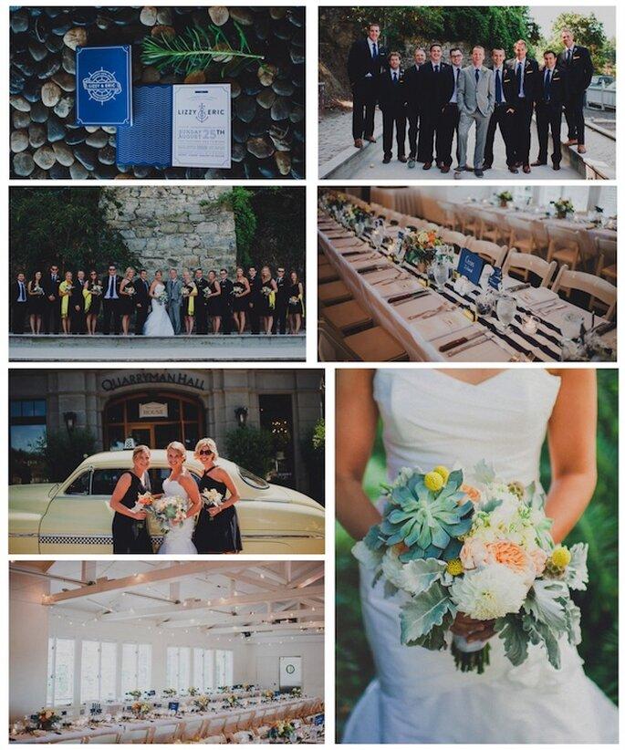 Celebrando Casamentos De Dia: 7 Real Weddings Cheios De