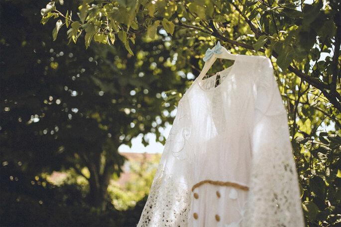 detalles vestidos novia