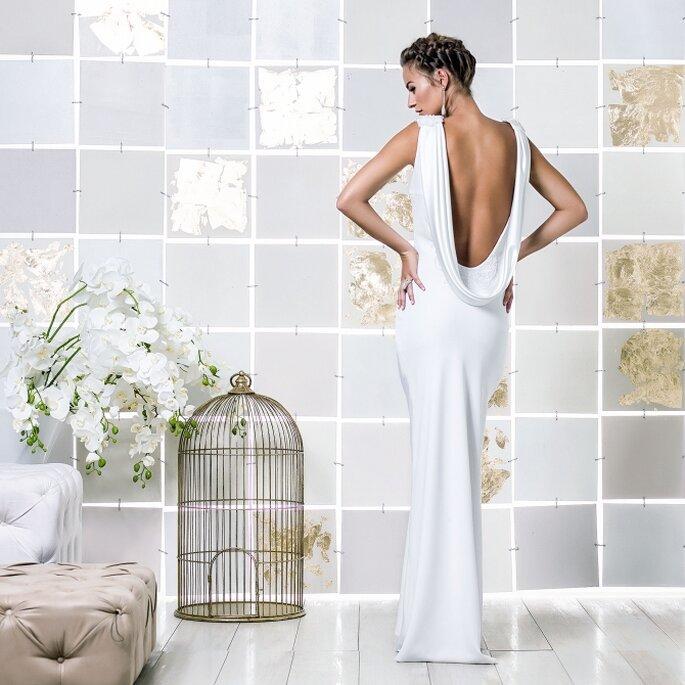 Atelier Gio Rodrigues - Vestido de noiva em sablé