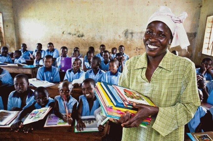 Vision du Monde, lutte contre toutes les formes de pauvreté et d'injustice. - Photo : Vision du Monde