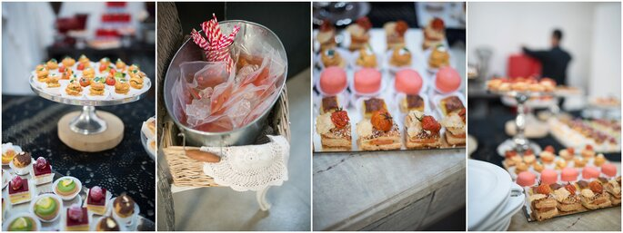 Le leccornie preparate da PQP Banqueting - Foto: Infraordinario Wedding