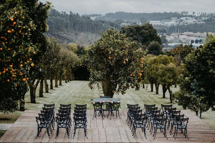cerimônia casamento ar livre
