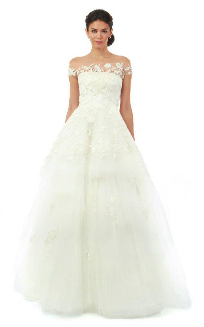 Vestidos de novia encantadores para otoño 2014 - Foto Oscar de la Renta