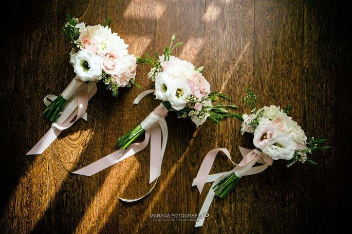 Bouquet floreali delle damigelle