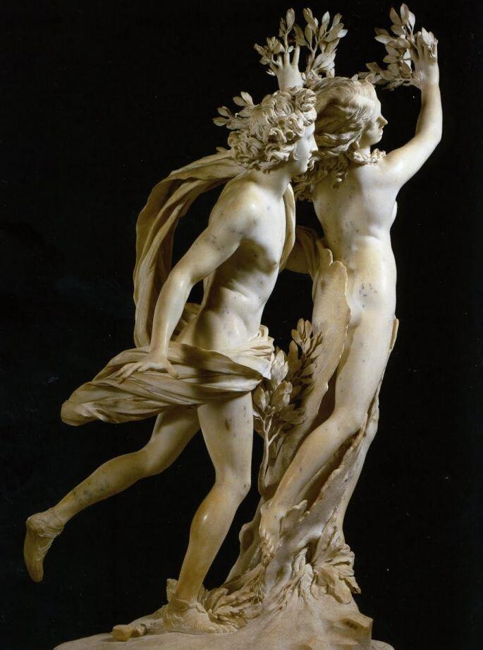 Аполлон и Дафна, Бернини